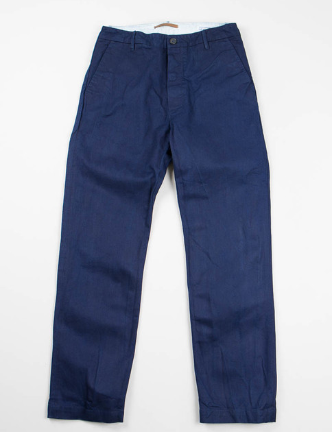 Indigo One Rinse Twill 1914 Trouser