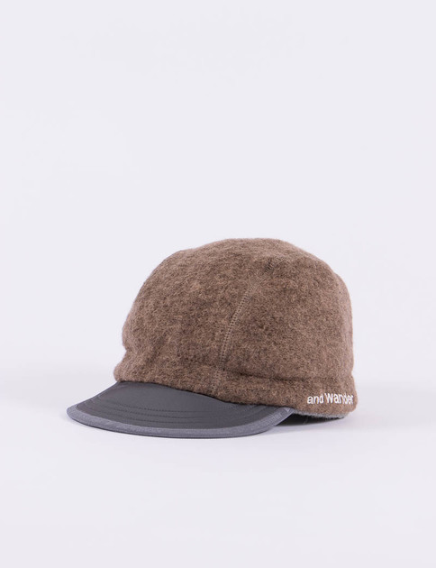 Brown Air Wool Cap