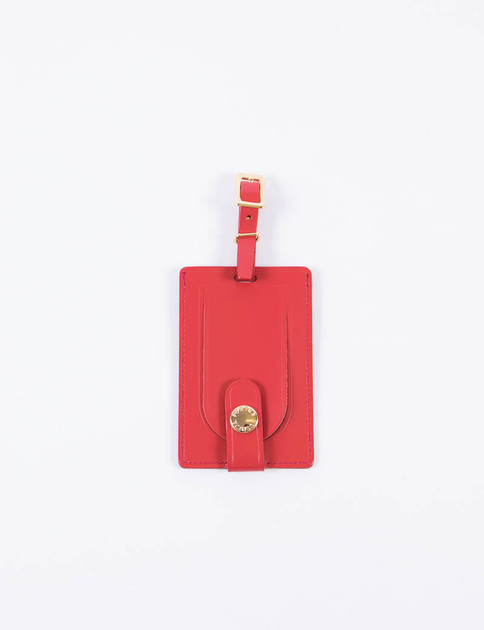 Red Leather Shop Original Luggage Tag