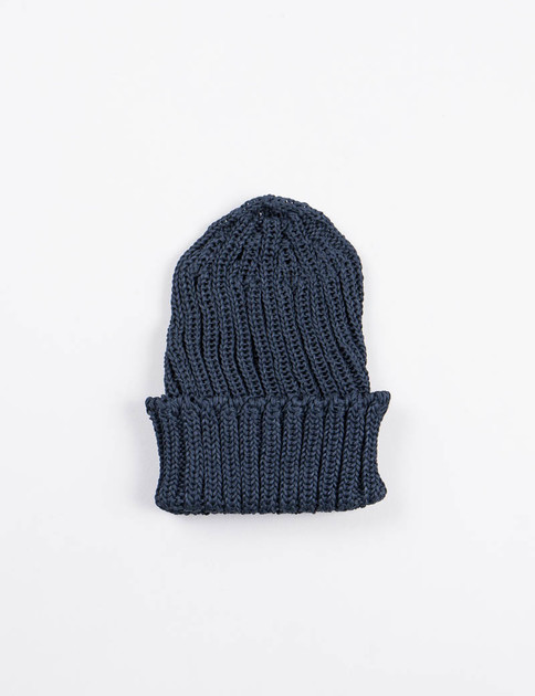 Navy Pre–Organic Cotton Knit Cap