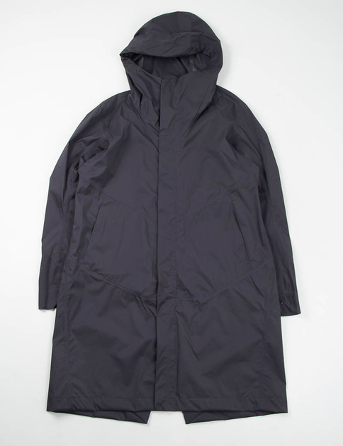 Black Apsis Windshell Hooded Coat