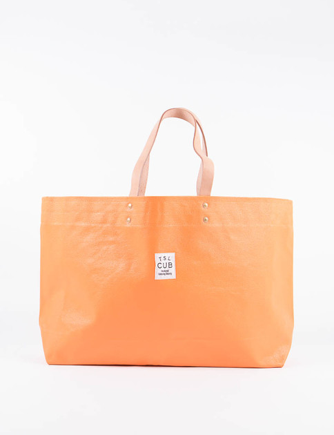 Orange Paint Tote L