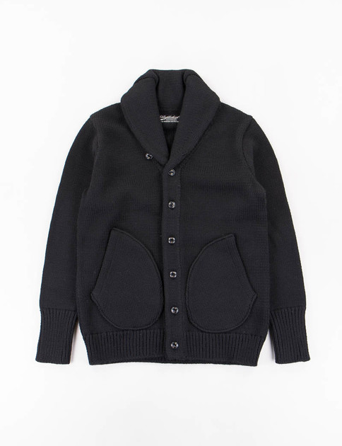 Black Old Point W–Cardigan