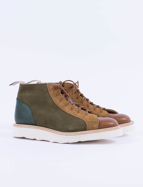 Turf Suede Multi Tone Monkey Boot
