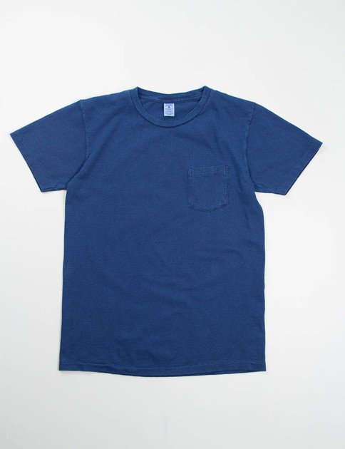 Indigo Dye Pocket Tee