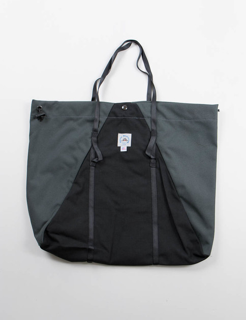 Raven/Steel Large Camp Tote