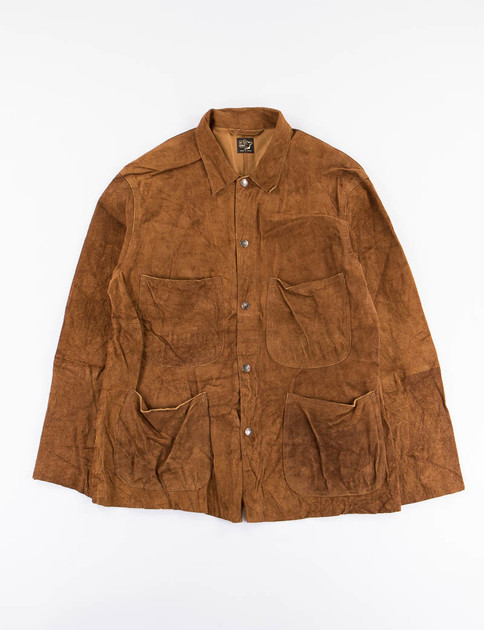 Brown Rough Out Utility Coverall