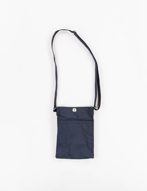 Navy High Count Polyester Oxford Cloth Small Shoulder Bag