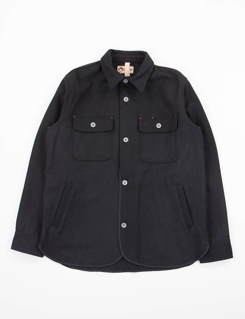 Lybro Black Navy CPO Work Shirt