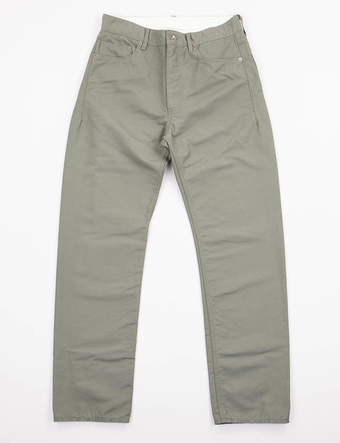 Olive Double Cloth Type 6 Jean