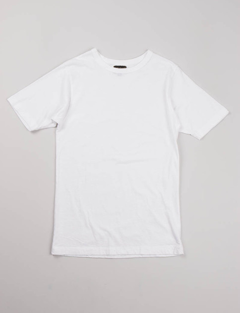 White Lightweight Athletic Tee