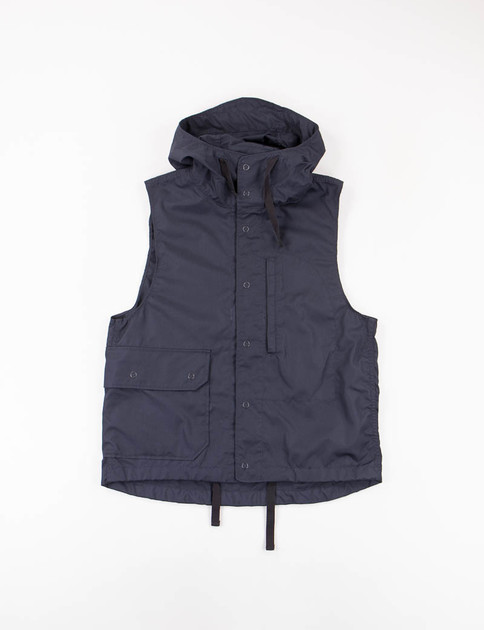 Dark Navy PC Poplin Field Vest