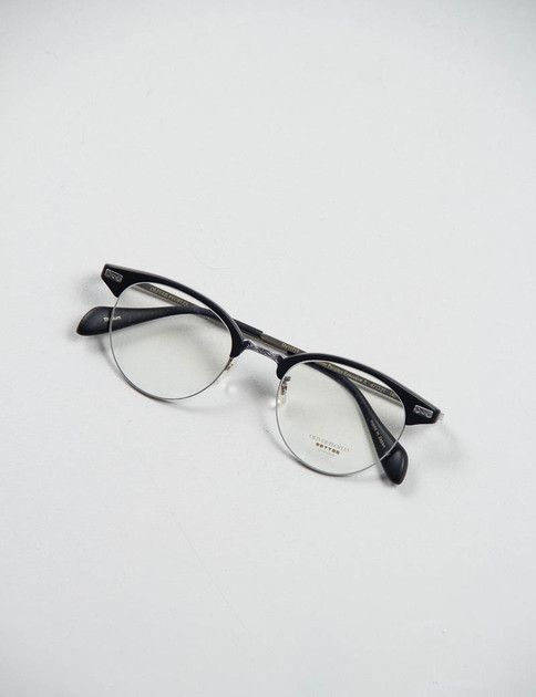 Matte Black/Pewter Executive II Optical Frame