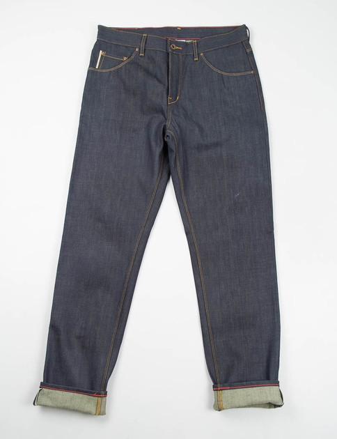 Original Selvage Raw Graham Jean