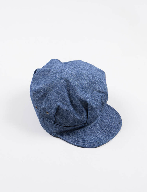 Blue Fatigue Cap
