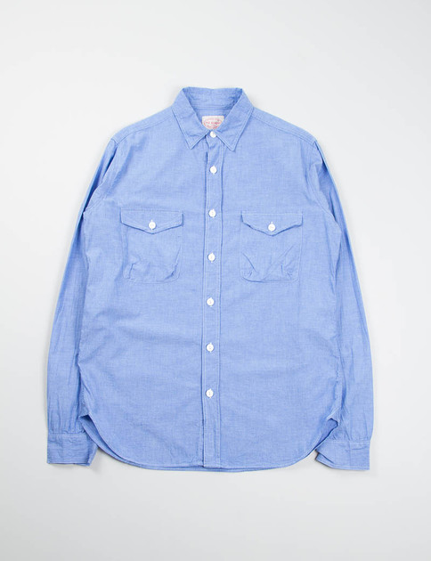 Blue Chambray Mill Shirt