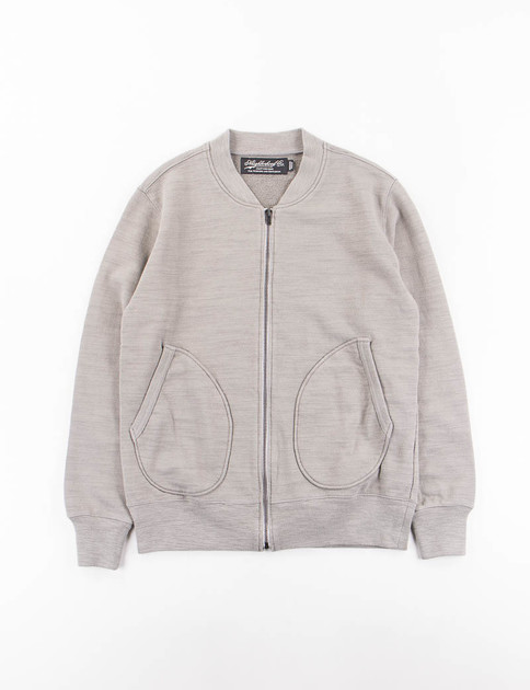 Grey Jersey TK C–Zip Cardigan