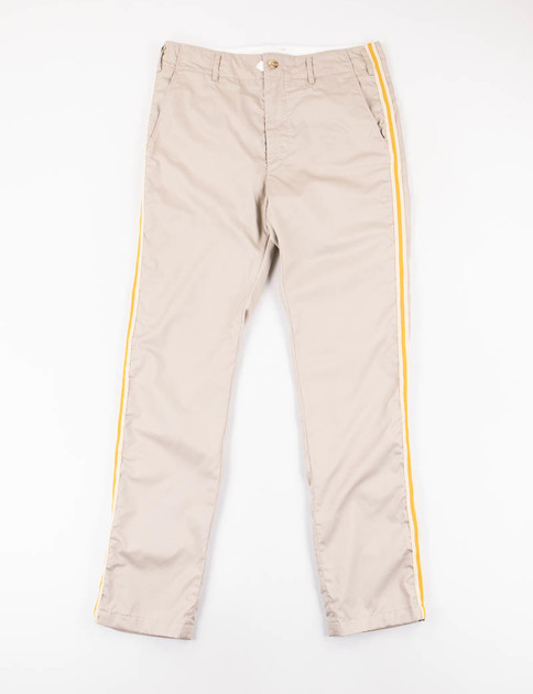 Khaki High Count Twill Prospect Pant