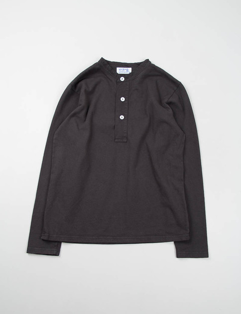 Charcoal L/S Henley