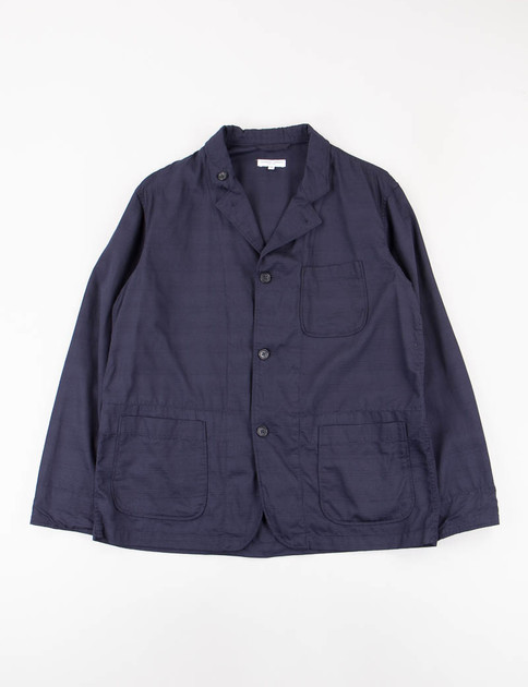 Dark Navy Java Cloth Loiter Jacket
