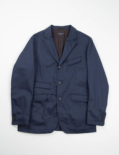 Dark Navy 8.5oz Chino Twill Andover Jacket