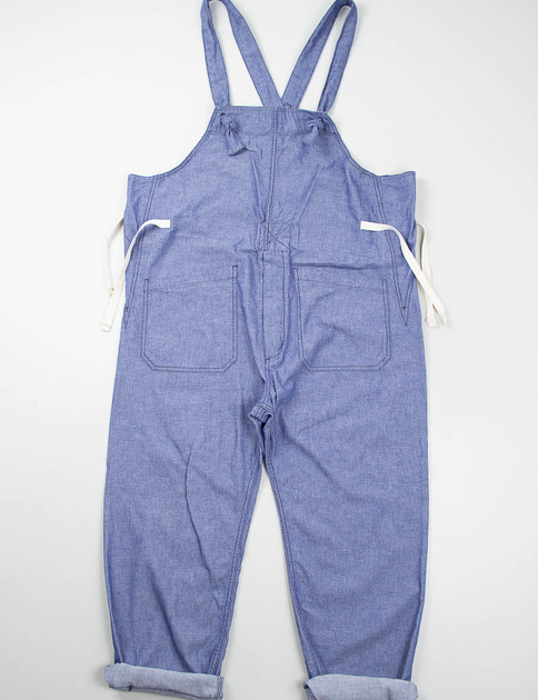 Blue Dungaree Cloth Overalls