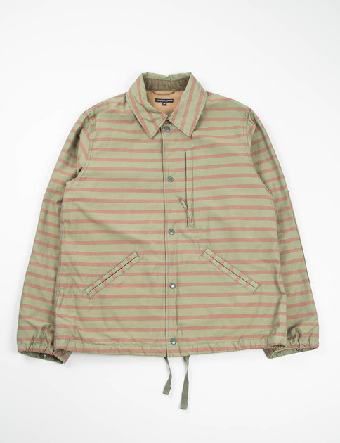 Olive/Brown Stripe Activecloth Ground Jacket