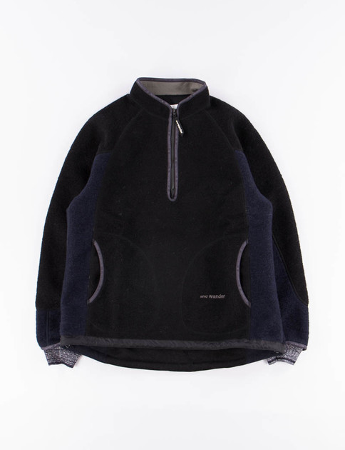 Black Air Wool Pullover