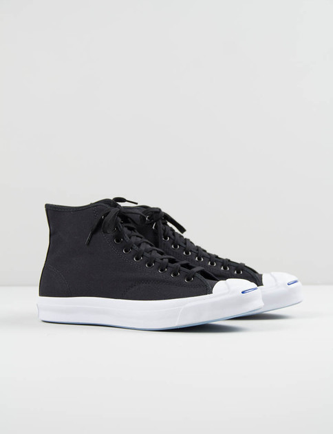 Black Jack Purcell Signature Duck Canvas Hi