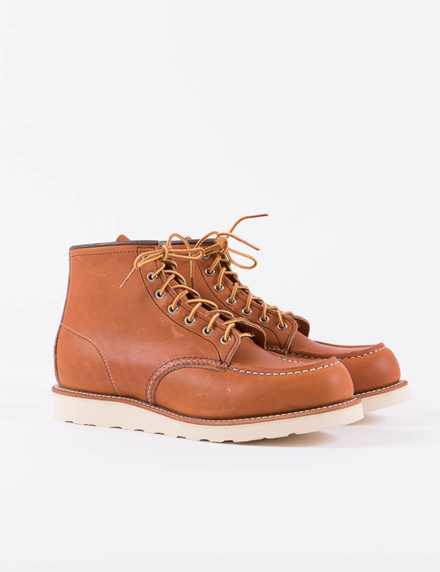 "Oro Legacy 875 Heritage 6"" Moc Toe Boot"