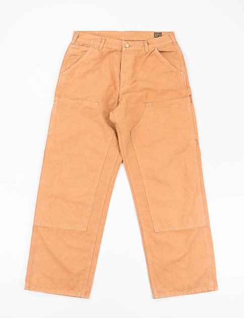 Brown Duck Double Knee Painter Pant