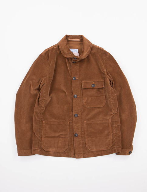 Light Brown Corduroy Officina Jacket SPECIAL