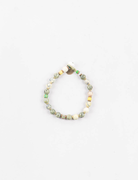 Yellow/Green 8mm Bracelet