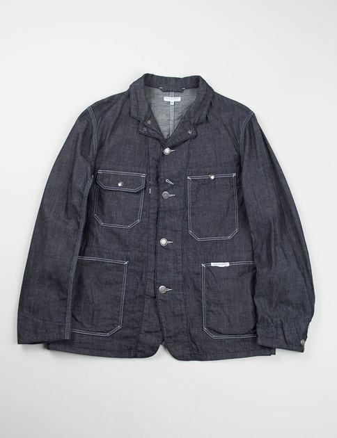 Indigo 8oz Cone Denim Engineer Jacket