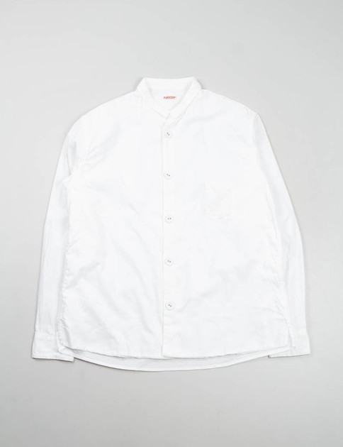 White Oxford Marble Shirt