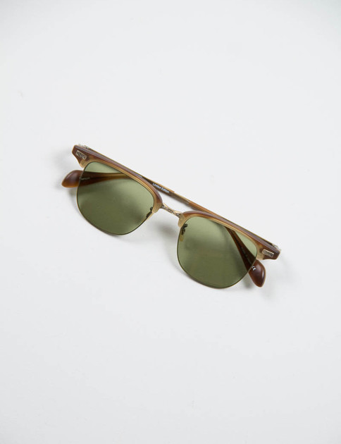 Matte Sycamore/Antique Gold Executive I Sunglasses