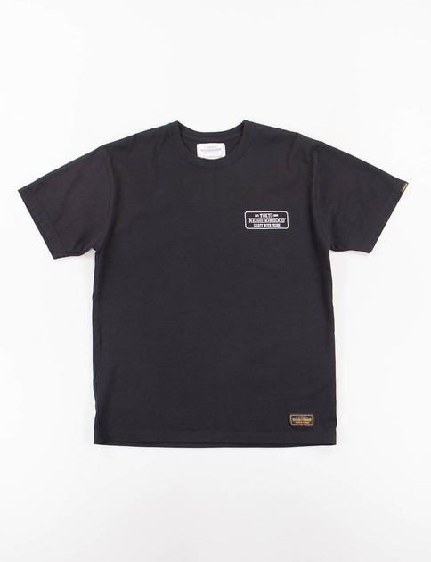Black Bar & Shield Tee