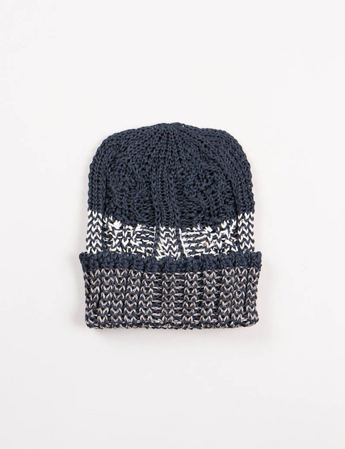 Navy Stripe Pre–Organic Cotton Knit Cap