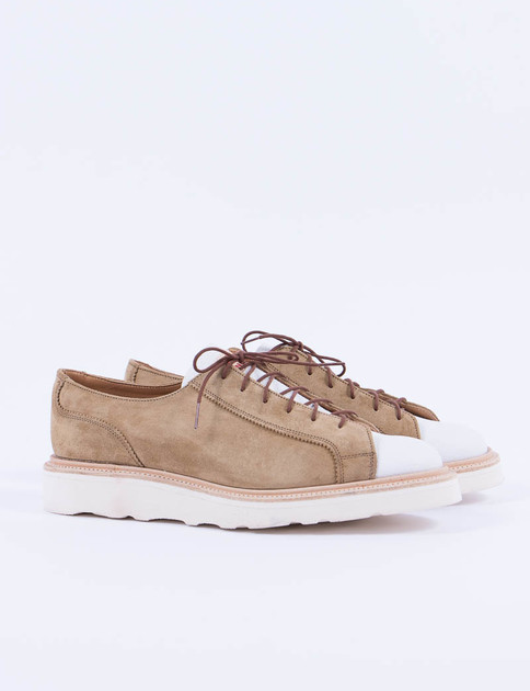 Gaucho Suede Two Tone Monkey Shoe