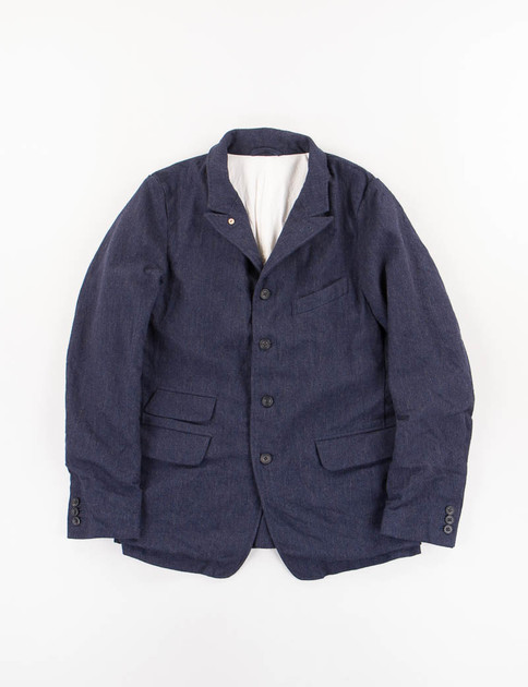 Navy Wool Old Potter Jacket