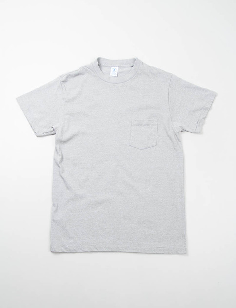 Heather Grey 1–Pac Pocket Tee