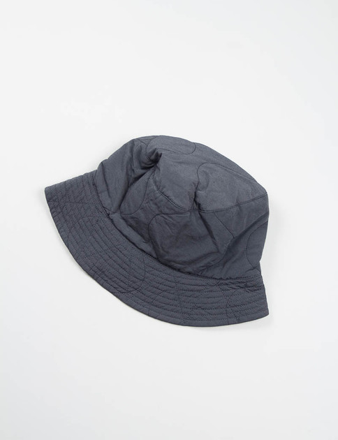 Grey Hourglass Quilted Activecloth Reversible Bucket Hat