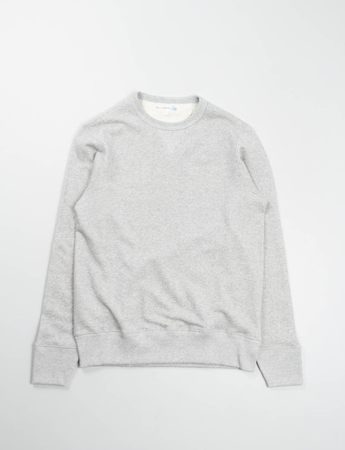 Grey Marl 3S48 Organic Wool/Cotton Sweater