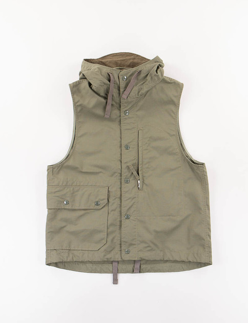 Olive Nyco Ripstop Field Vest