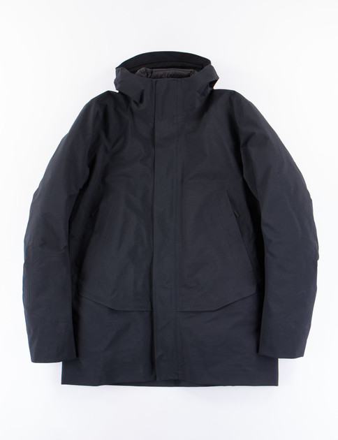 Black Patrol Down Coat