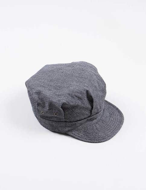 Black Fatigue Cap