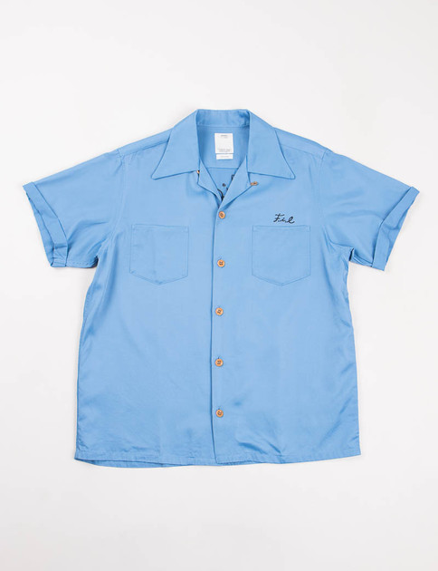 Blue Irving S/S Shirt