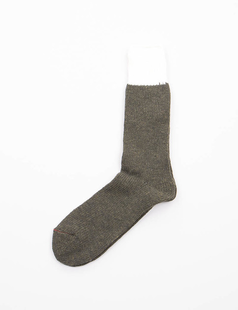 Olive/Natural Tonal Socks