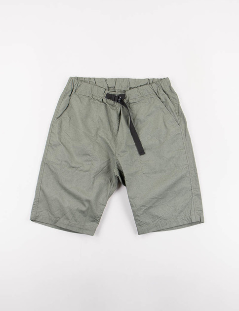 Olive Cotton/Hemp Weather Cloth Climbing Short