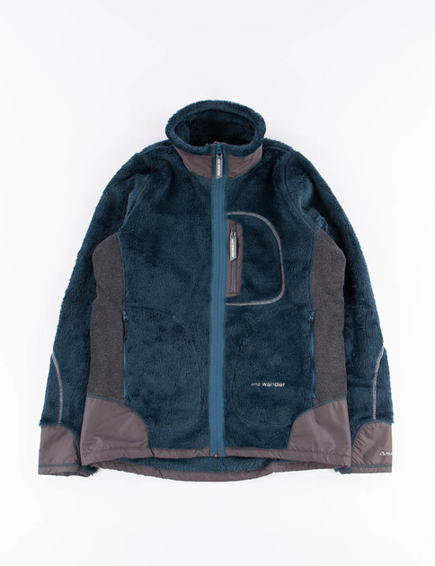 Blue High Loft Fleece Jacket